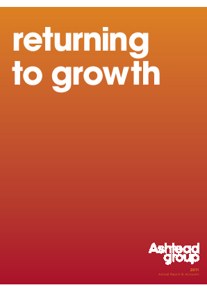 Ashtead Group annual report 2011