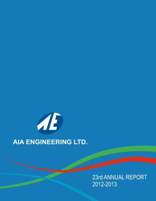 AIA Engineering annual report 2013