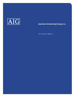 AIG annual report 2010