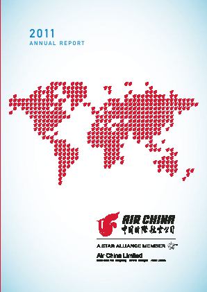 Air China annual report 2011