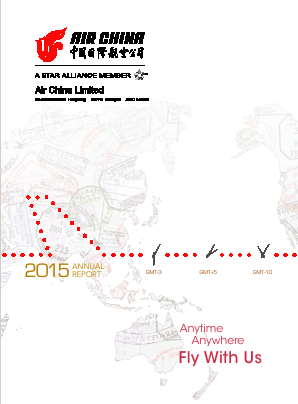 Air China annual report 2015