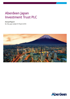 Aberdeen Japan Investment Trust Plc annual report 2014