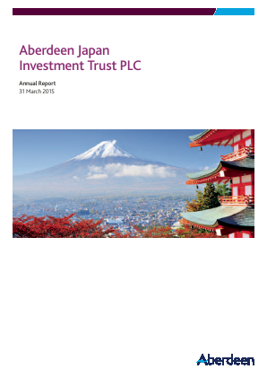 Aberdeen Japan Investment Trust Plc annual report 2015
