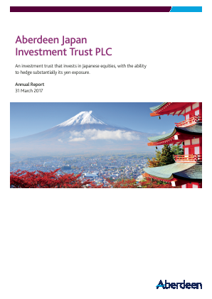 Aberdeen Japan Investment Trust Plc annual report 2017