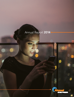 Akamai Technologies Incorporated annual report 2014