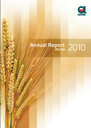 Acron JSC annual report 2010