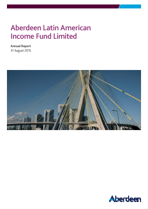 Aberdeen Latin American Income Fund annual report 2015