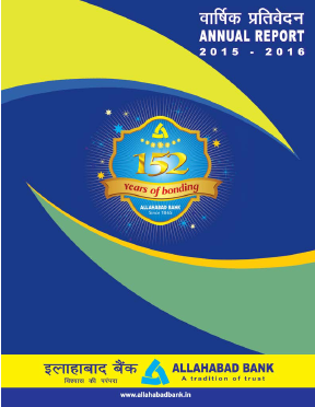 Allahabad Bank annual report 2016