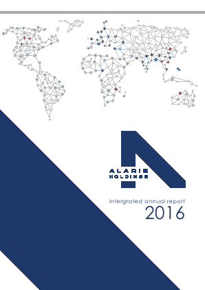 Alaris Holdings annual report 2016