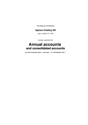 Alimak Group annual report 2011