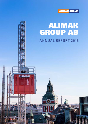 Alimak Group annual report 2015