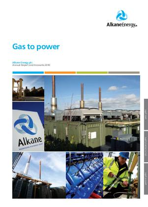 Alkane Energy annual report 2010