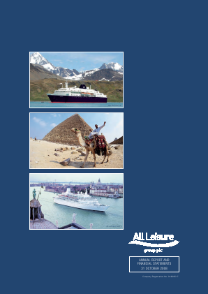 All Leisure Group Plc annual report 2008