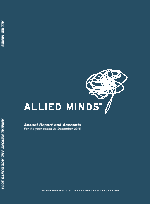 Allied Minds annual report 2015