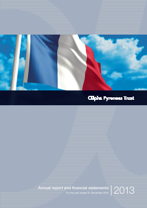 Alpha Pyrenees Trust annual report 2013