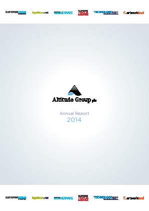 Altitude Group Plc annual report 2014
