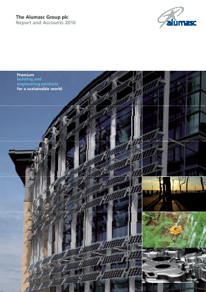 Alumasc Group annual report 2010