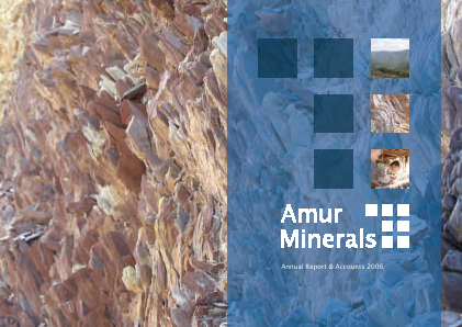 Amur Minerals Corp annual report 2006