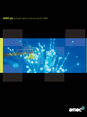 Amec annual report 2004