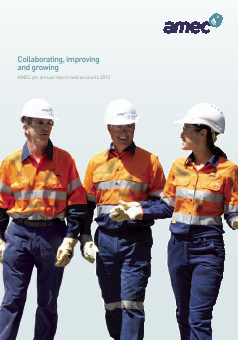 Amec annual report 2013