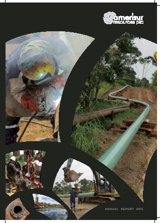 Amerisur Resources Plc annual report 2015