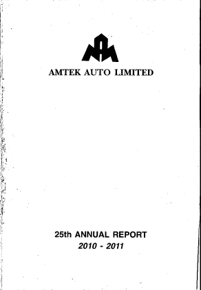 Amtek Auto annual report 2011