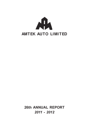 Amtek Auto annual report 2012