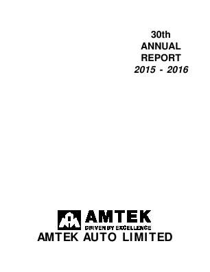 Amtek Auto annual report 2016