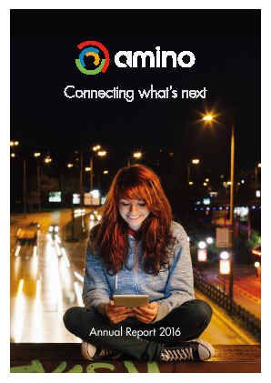 Amino Technologies annual report 2016