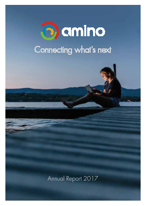 Amino Technologies annual report 2017