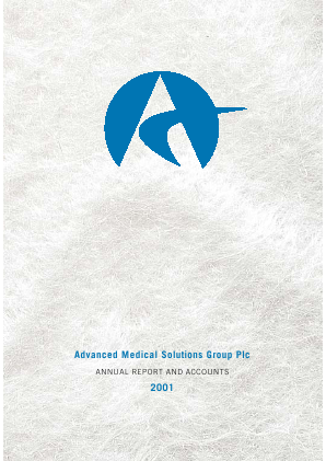 Advanced Medical Solutions Group annual report 2001