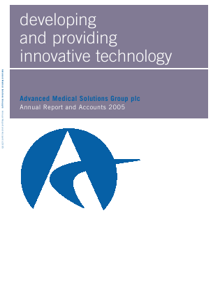 Advanced Medical Solutions Group annual report 2005