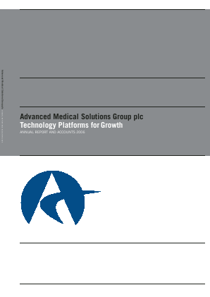 Advanced Medical Solutions Group annual report 2006