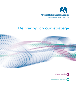 Advanced Medical Solutions Group annual report 2008