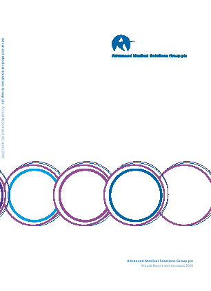 Advanced Medical Solutions Group annual report 2010