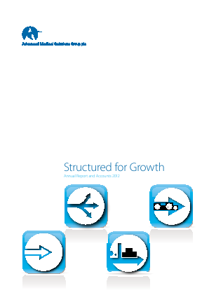 Advanced Medical Solutions Group annual report 2012