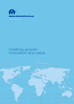 Advanced Medical Solutions Group annual report 2014