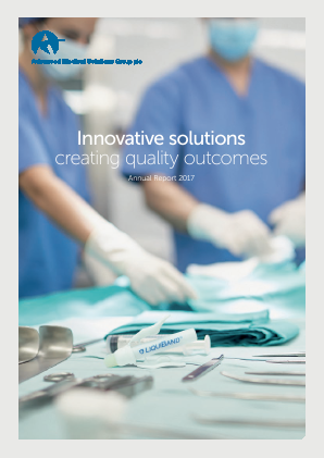 Advanced Medical Solutions Group annual report 2017