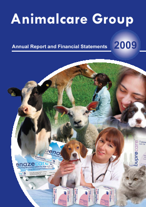 Animalcare Group Plc annual report 2009