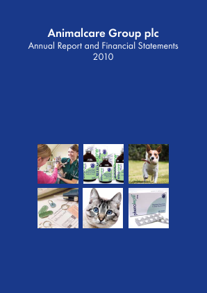 Animalcare Group Plc annual report 2010