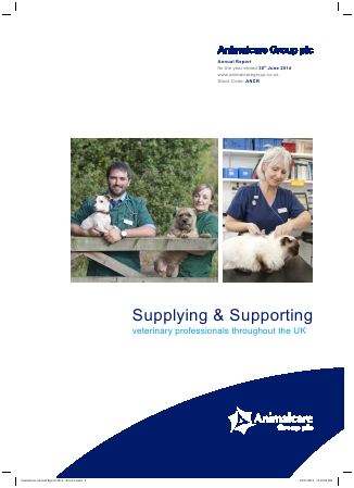 Animalcare Group Plc annual report 2014