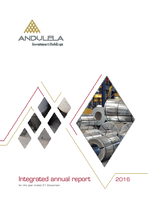 Andulela Investment Holdings annual report 2016