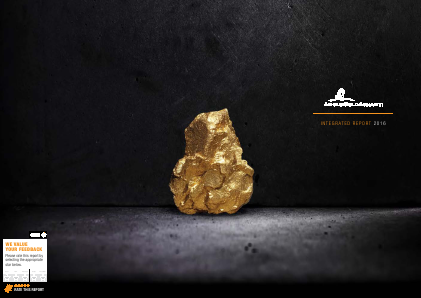 Anglogold Ashanti annual report 2016