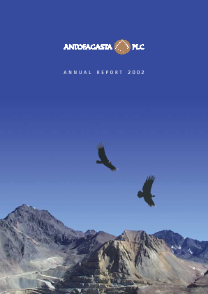 Antofagasta annual report 2002