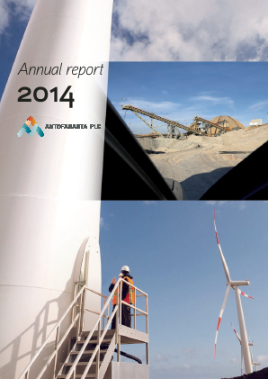 Antofagasta annual report 2014