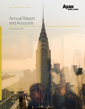 Apax Global Alpha annual report 2015
