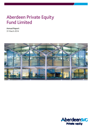 Aberdeen Private Equity Fund annual report 2014
