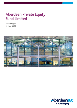 Aberdeen Private Equity Fund annual report 2015