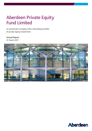Aberdeen Private Equity Fund Ltd annual report 2017