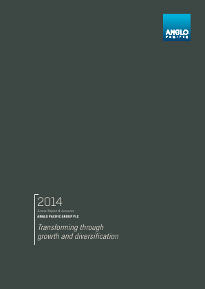 Anglo Pacific Group annual report 2014
